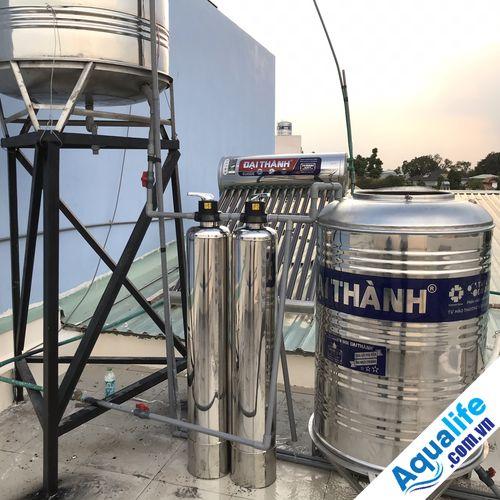 giải pháp lọc nước giếng khoan