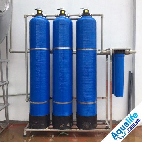 lọc nước nhiễm vôi