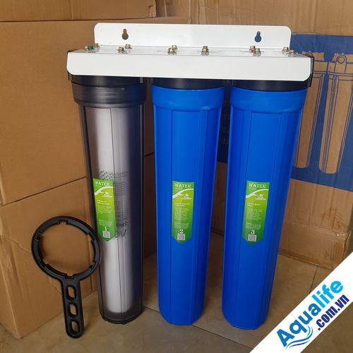 bộ 3 cốc lọc nước thô 20 inch