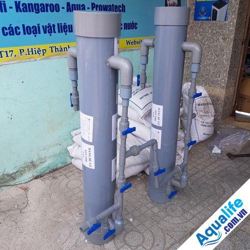 Bộ lọc nước nhiễm phèn tự chế