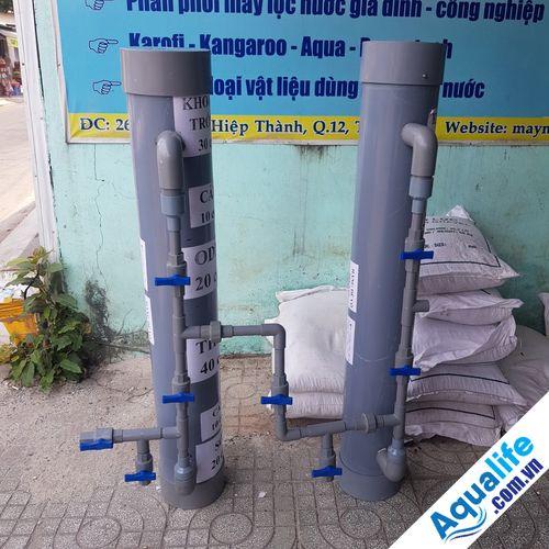 bộ lọc nước nhiễm phèn tự chế chất lượng cao
