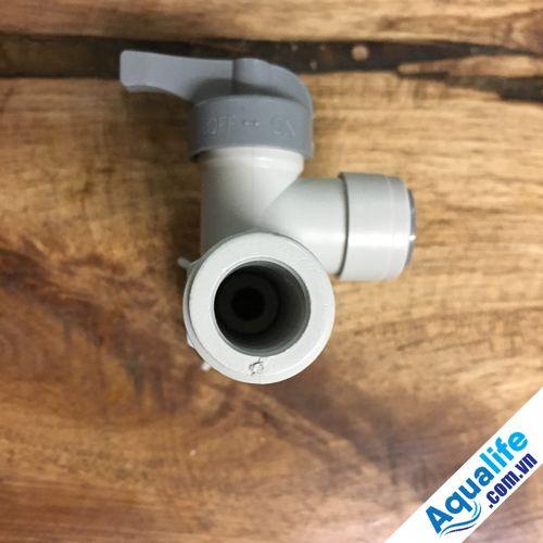Van khóa cấp nước đầu nguồn ren 21 ống fi 10