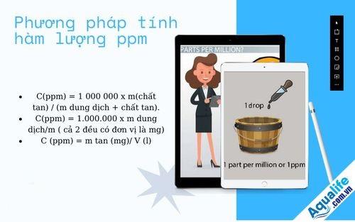 Đổi đơn vị ppm sang mg/m3